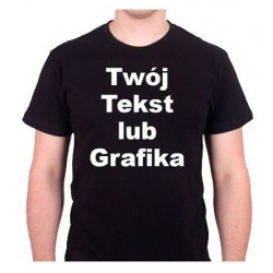 Męska Dwustronna Koszulka z...