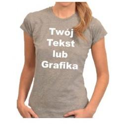 Damska DWUSTRONNA Koszulka...