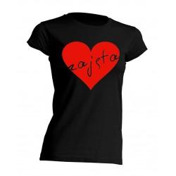 Koszulka ZAJĘTA serce