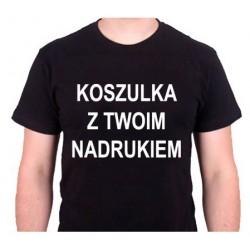 Męska Koszulka z Własnym...