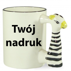 Kubek Zebra 330ml z Twoim...