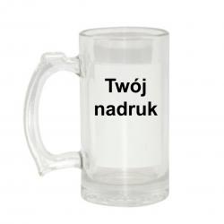 Kufel szklany przeźroczysty...