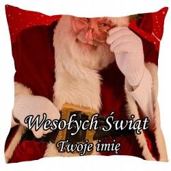 Poduszka Na Święta Mikołaj...