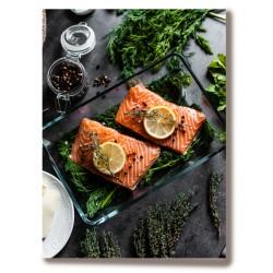 Ryby obiad jedzenie Obraz...
