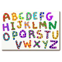 Alfabet do pokoju dziecka...