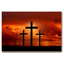 Krzyż Golgota Jezus Obraz...