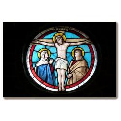 Krzyż Jezus ukrzyżowany...