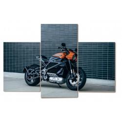 Motocykl motor 3 częściowy...