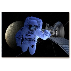 Kosmos astronauta planety...