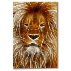 Lew król zwierząt Obraz na...