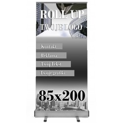 ROLL-UP 85x200 BLOCKOUT -...