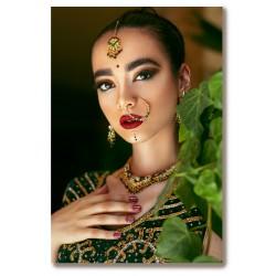 Kobieta Indie hinduska...