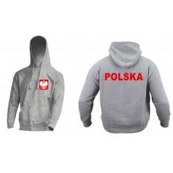 Bluza z kapturem POLSKA