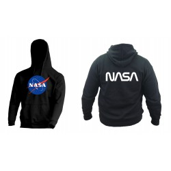 Bluza z kapturem NASA
