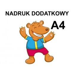 Nadruk Dodatkowy A4 DTG do...