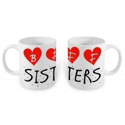 Zestaw 2 kubków BFF Sisters...