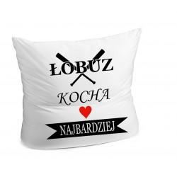 Poduszka ,,Łobuz kocha...