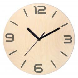 Zegar Drewniany 20cm bez...