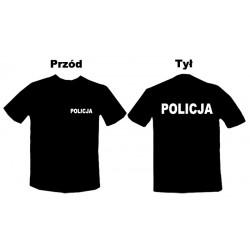 Koszulka Policja Biały...